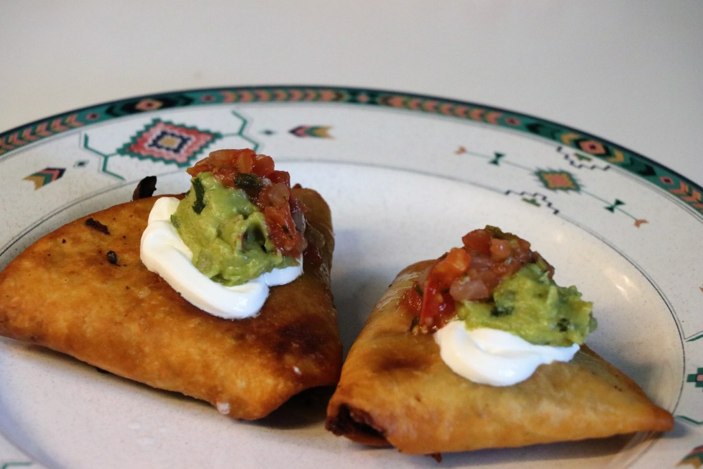 Spice Up Your Taco Tuesday With Fried Taco Triangles