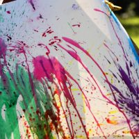 Balloon Paint Pop At Home Carnival Game for Kids