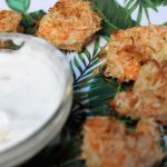 red lobster inspired baked coconut shrimp