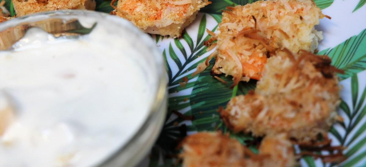Red Lobster Inspired Baked Coconut Shrimp