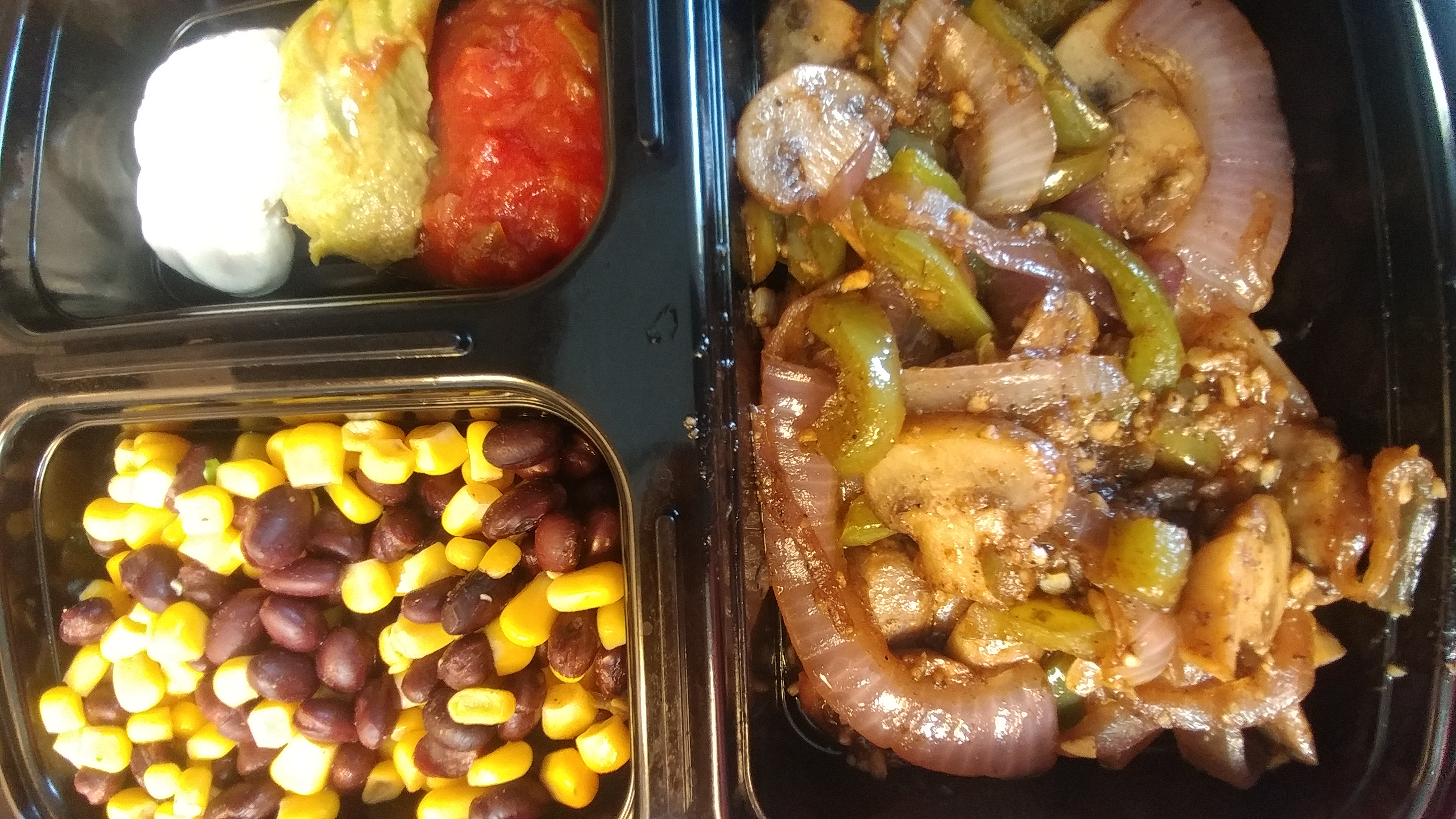 veggie fajita bowls family friendly low carb lunch prep ideas