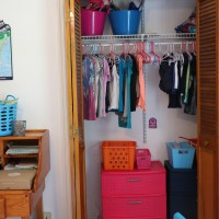 Creative & Inexpensive Shared Kids Room Organization Ideas
