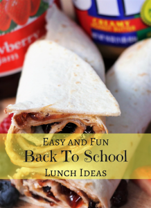 Easy and Fun Back To School Lunch Ideas #BetterTogetherPBandJ #WeAreBetterTogether #CollectiveBias #ad