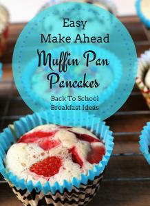 Muffin Pan Pancakes