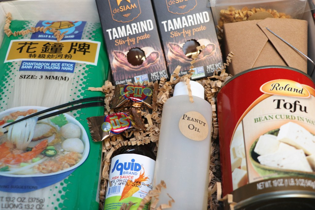 Takeout kit subscription meal box