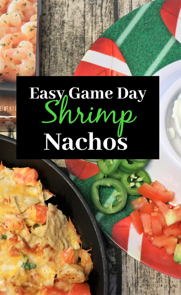 Easy Game day Shrimp Nachos