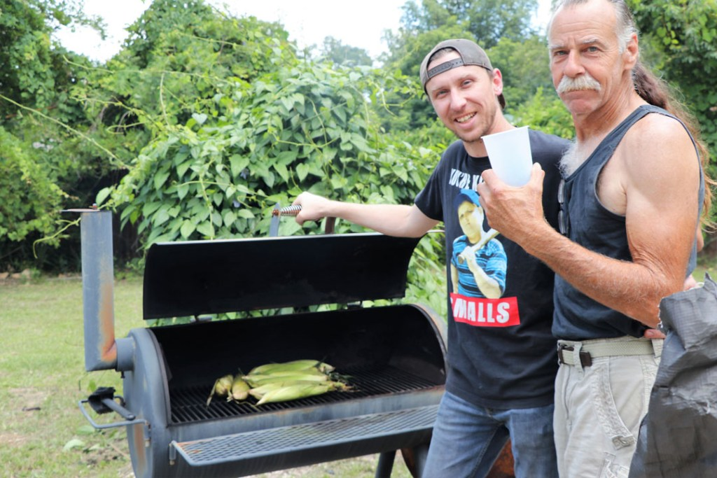 have the perfect summer cookout on a budget. sweet corn on the grill