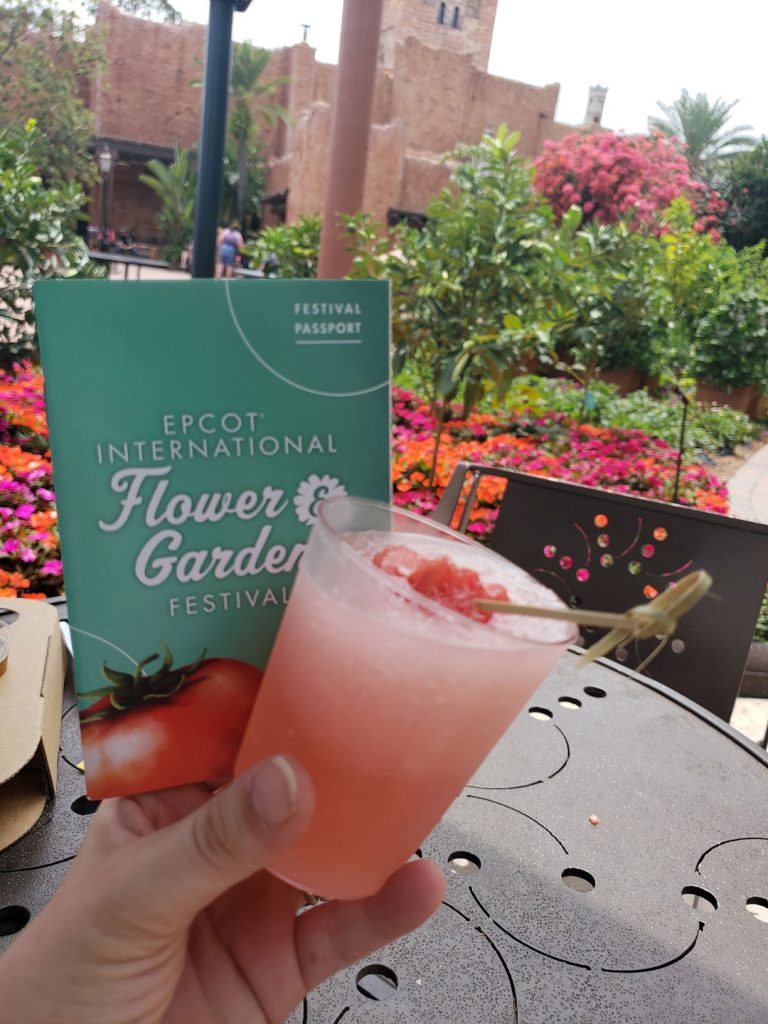 epcot flower $ Garden festival drinks