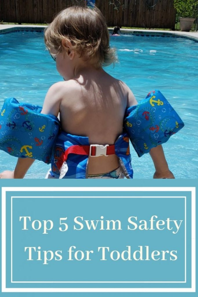 Top 5 swim safety tips for toddlers with SwimWays.