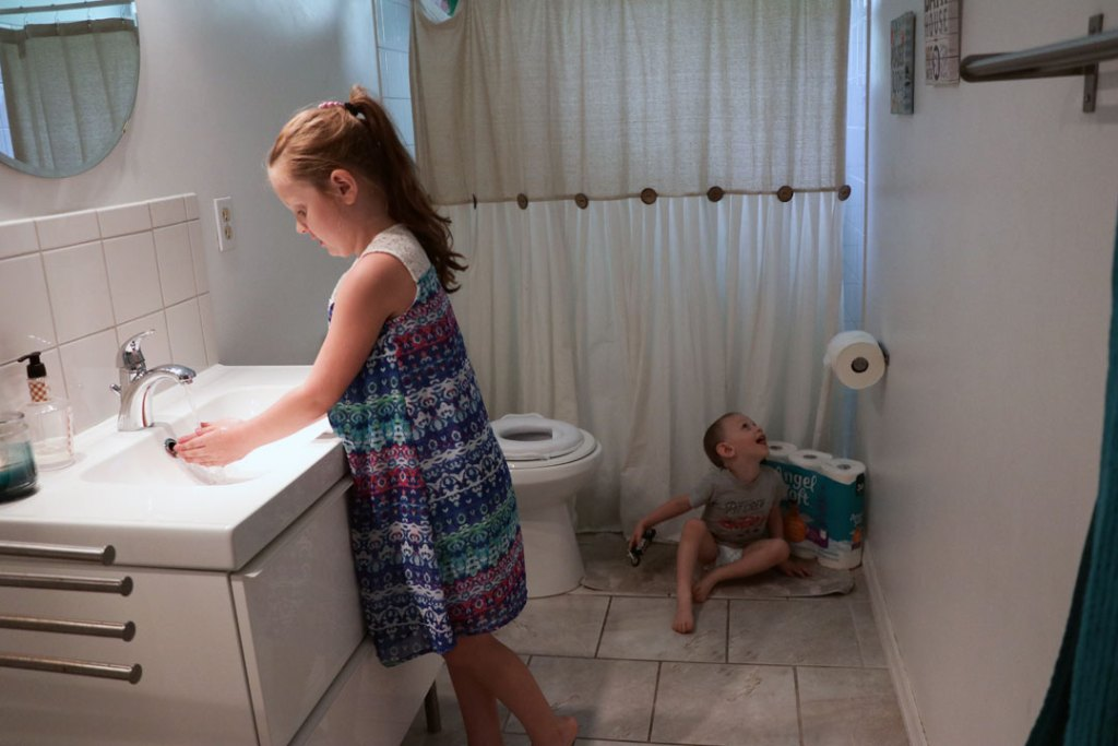 Easy Ways to Keep a kid friendly clean bathroom