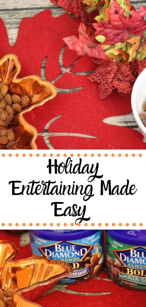 Holiday Entertaining Made Easy. Make your holiday snacking simple this year with Blue Diamond Snack Almonds. A portion of sales from Blue Diamond will also be going to support Toys for Tots this year. #ad #UpgradeYourHolidays #BD