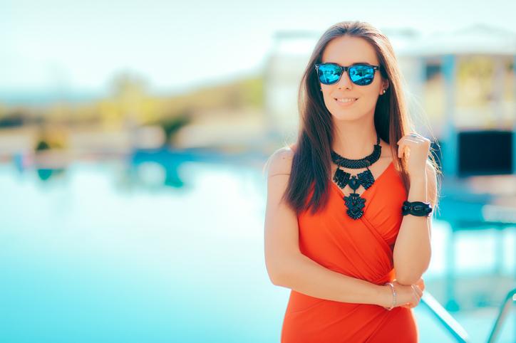 Wear statement jewelry