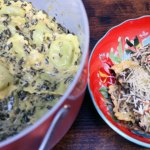 One Pot Spinach Ravioli