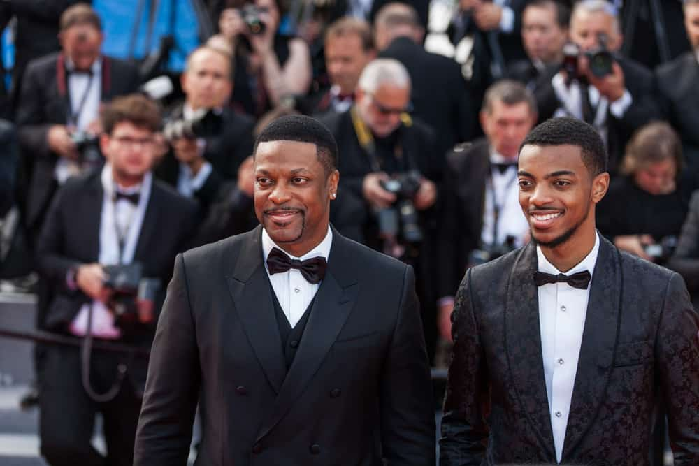 CANNES, FRANCE - MAY 21, 2019: Chris Tucker and Destin