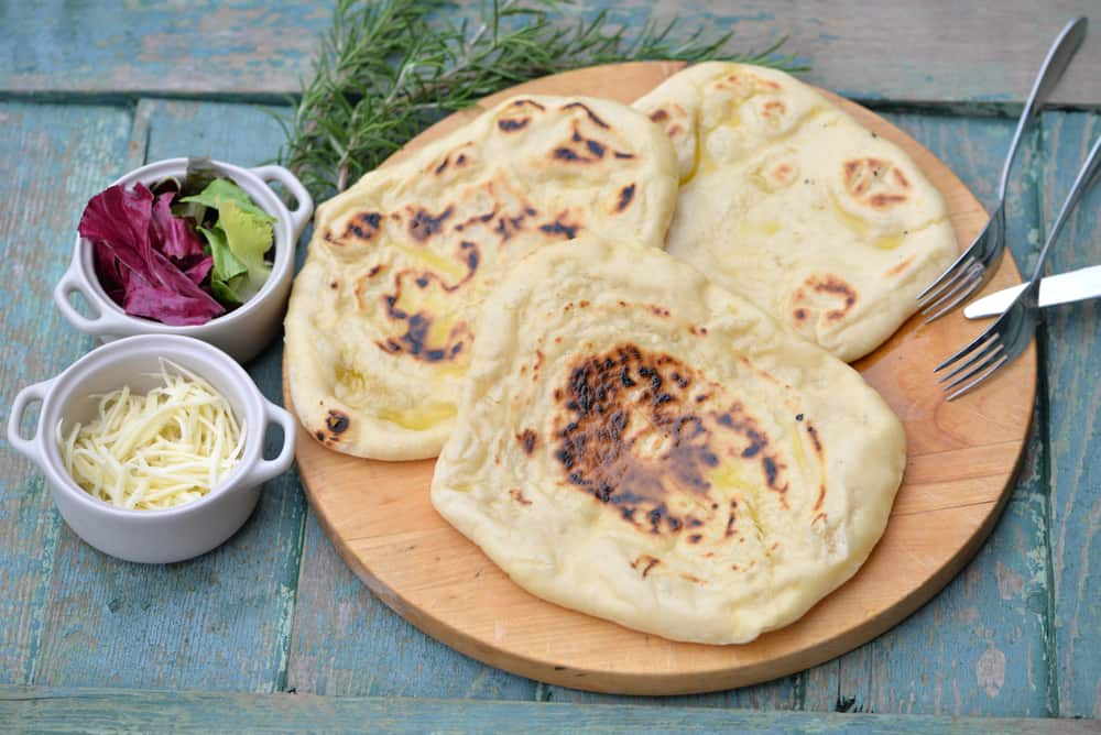 Home baked flat breads