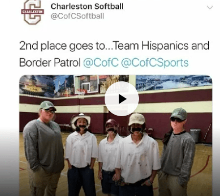 Cofc Softball Team Halloween 2020 College Students Win Prize For Halloween Outfits . . . And