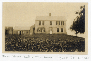 Colonial house in 1920