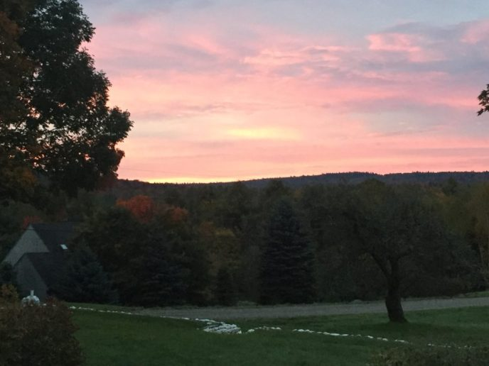 Beautiful Vermont sunrise
