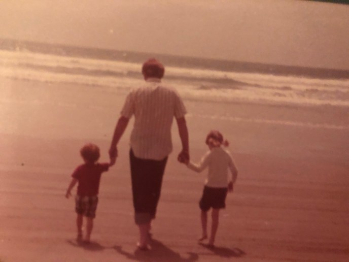 Me, Dad, and Billy at Pismo Beach