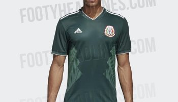 b201c0730 Official Pictures for Mexico s 2018 World Cup Kit Leak
