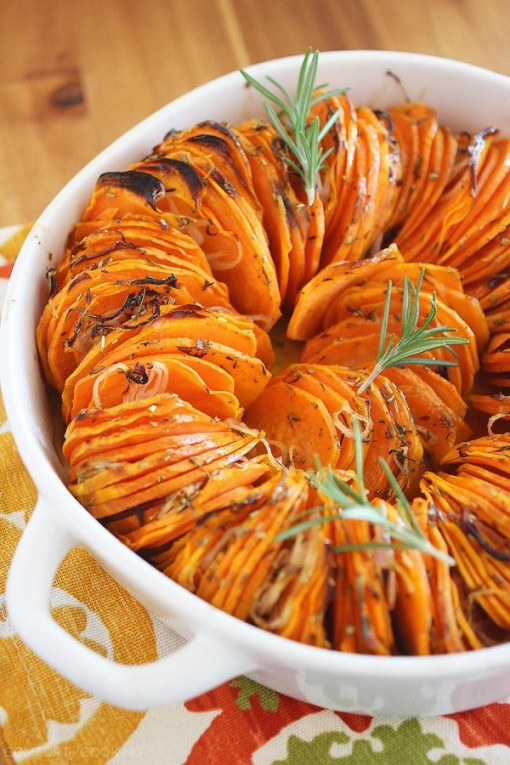 Gluten-Free Crispy Roasted Rosemary Sweet Potatoes