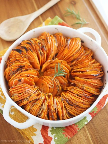 Thanksgiving sides - All about Sweet Potatoes. Thanksgiving side dishes, all of them featuring Sweet Potatoes. Classic and modern sides for Thanksgiving.