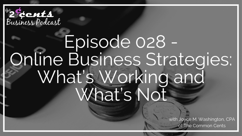 Episode 028 - Online Business Strategies: What's Working and What's Not