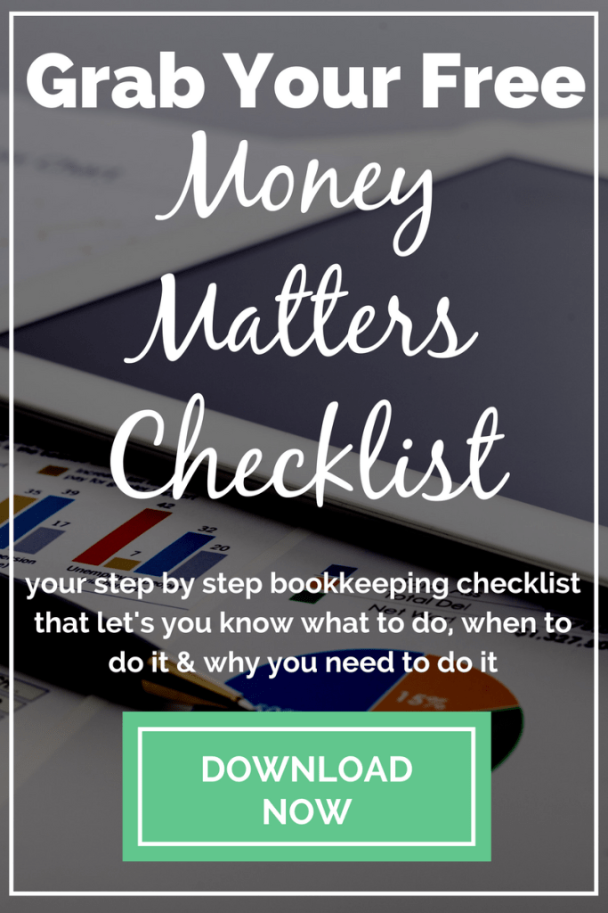 Money Matters Checklist