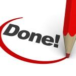 final tasks