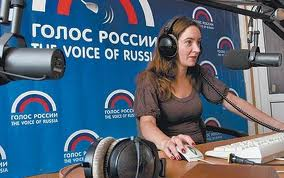 """CNN and FOX propagandists have nothing on us."" Kate Zickel a host for the Voice of Russia."