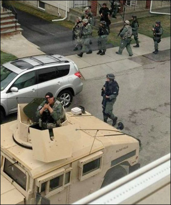 boston martial law dhs