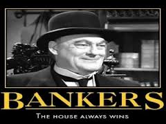 Image result for crooked bankers