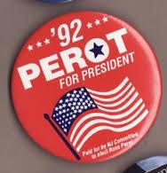 perot campaign sticker