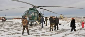 north pole russian soldiers