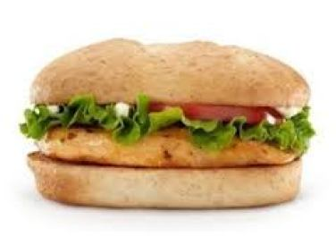 Guilty of assault with a deadly McChicken sandwich.