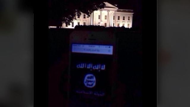 isis twitter at whitehous