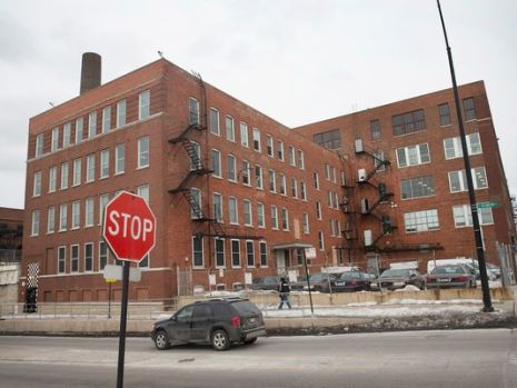 """This is one of the   """"black sites"""" where torture of illegal detention of Chicago residents is taking place."""