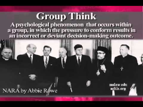 Image result for GROUP think within politics