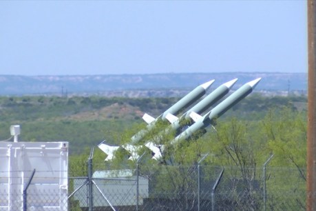 These are high resolution photos of the SAM missiles, that many say do not exist. These missiles are located 45 miles southeast of Lubbock, TX and were originally photographed by Texas resident, Travis Kuenstler. These photos will soon be back in the news at The Common Sense Show, as we have just learned that this represents World War III preparations and the countering of the ISIS threat on or southern border.