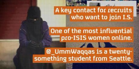 isis female recruiter