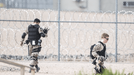 """Arizona Governor Ducey reported that  """"special forces"""" were brought in to control the situation. Special forces? Since when are special forces used for a prison riot unless they are Jade Helm special forces and are training for """"other activities""""."""