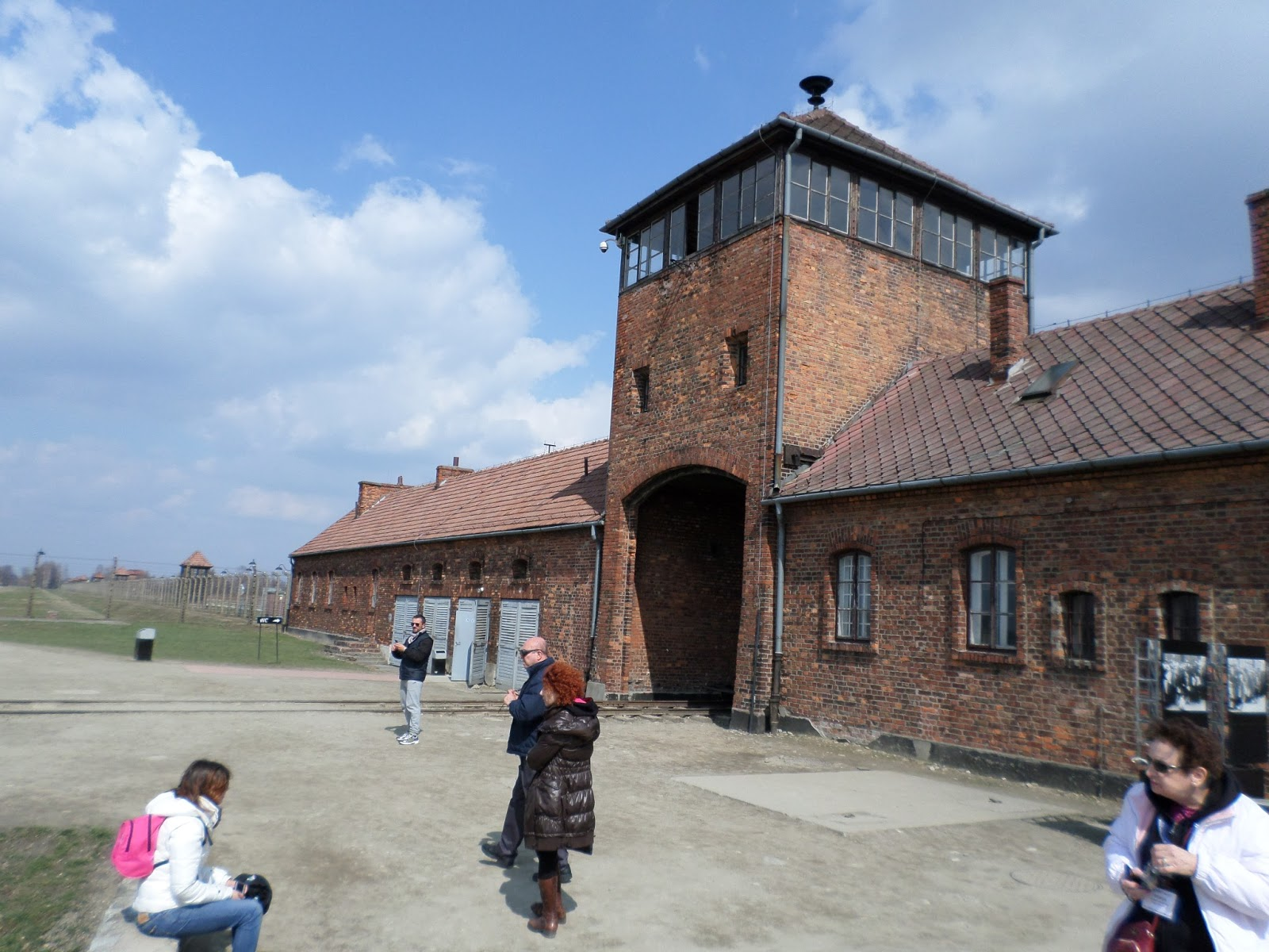 These schools kind of look like this Nazi concentration camp.