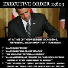 obama and eo 13603