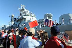 In times of prewar tension, Chinese warships visit Hawaii, the very site of the Japanese attack upon Pearl Harbor over 74 years ago. How ironic!