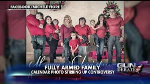 The number one nominee for the American Family of the Year.