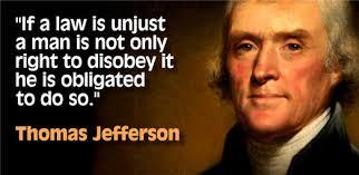 jefferson civil obedience