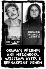 These two launched the political career of President Obama. Ayers bragged he would have to kill millions in re-education camps.