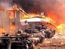 Innocent children were burned to death at Waco.