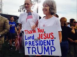 trump and jesus