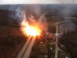 gas line explosions